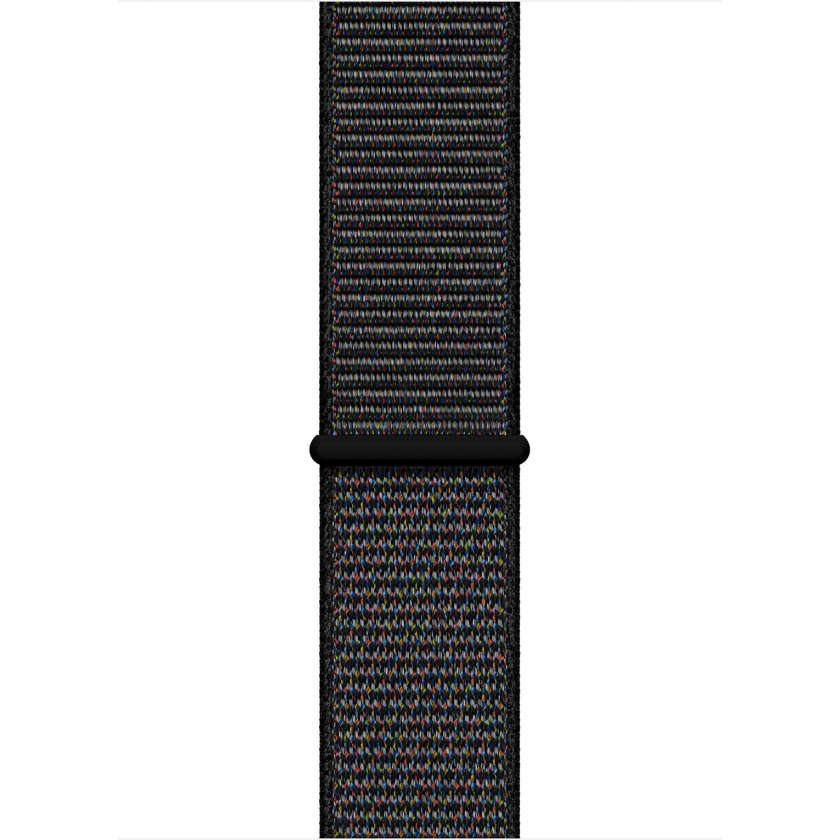 Apple Watch Series 4 GPS 40mm Space Gray Aluminum Case with Black Sport Loop