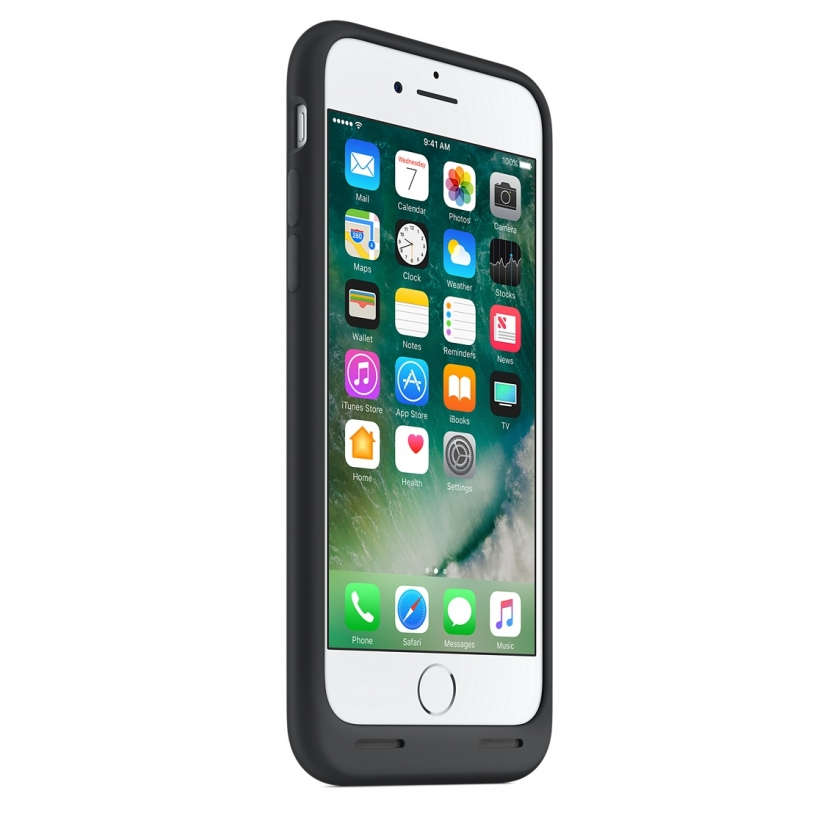 iPhone 7 Smart Battery Case - Black