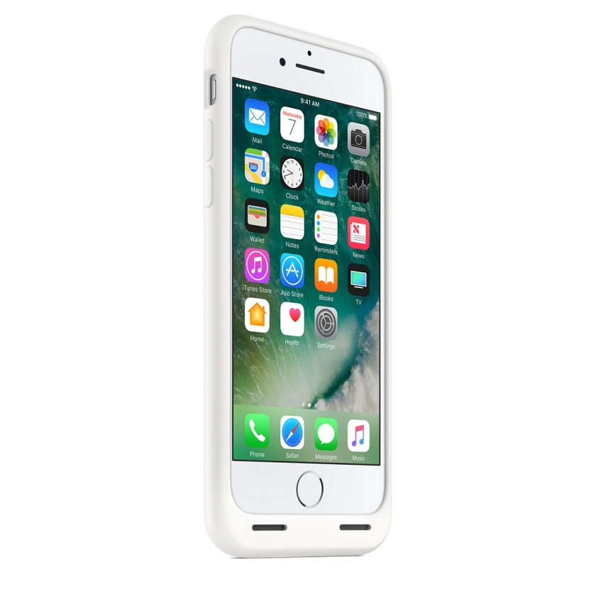 iPhone 7 Smart Battery Case - White