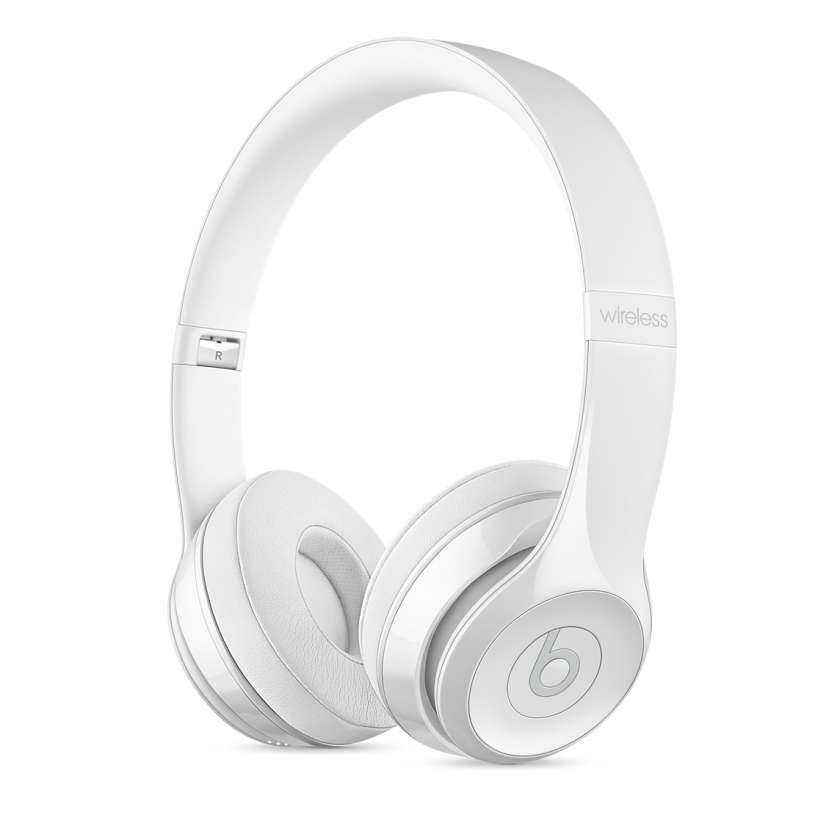 Beats Solo3 Wireless - Gloss White
