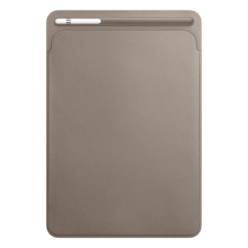 Leather Sleeve for 10.5‑inch iPad Pro - Taupe