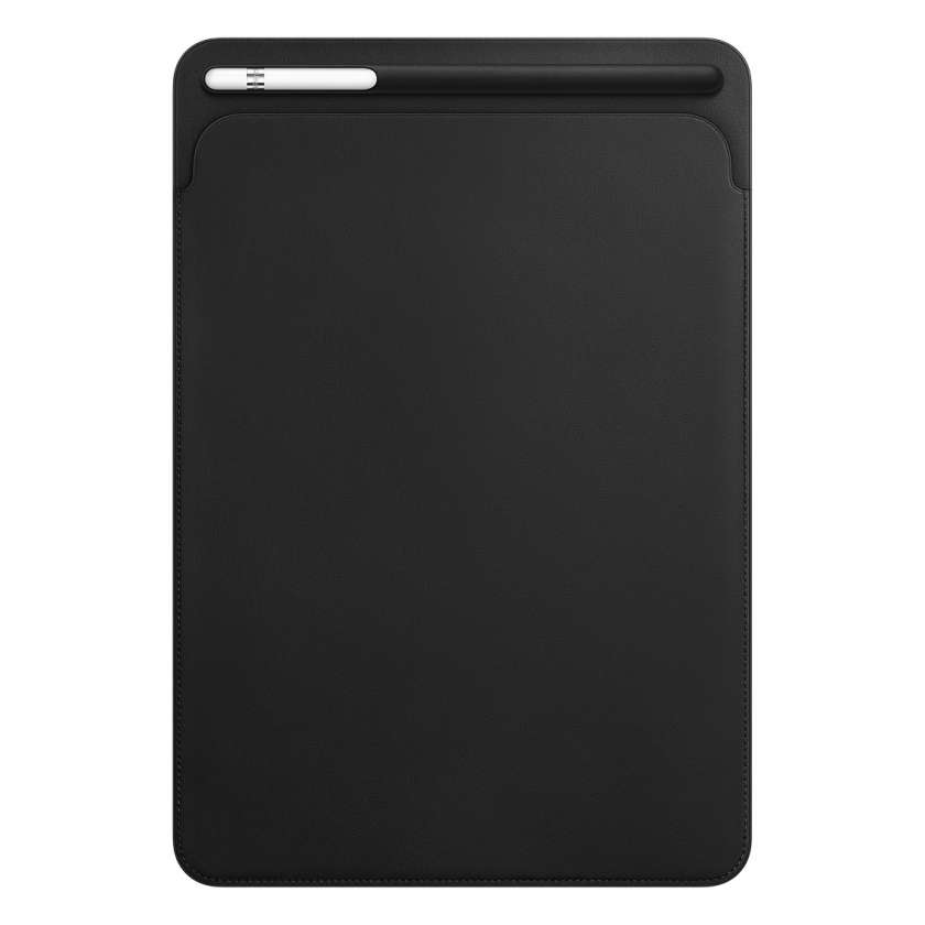 Leather Sleeve for 10.5‑inch iPad Pro - Black