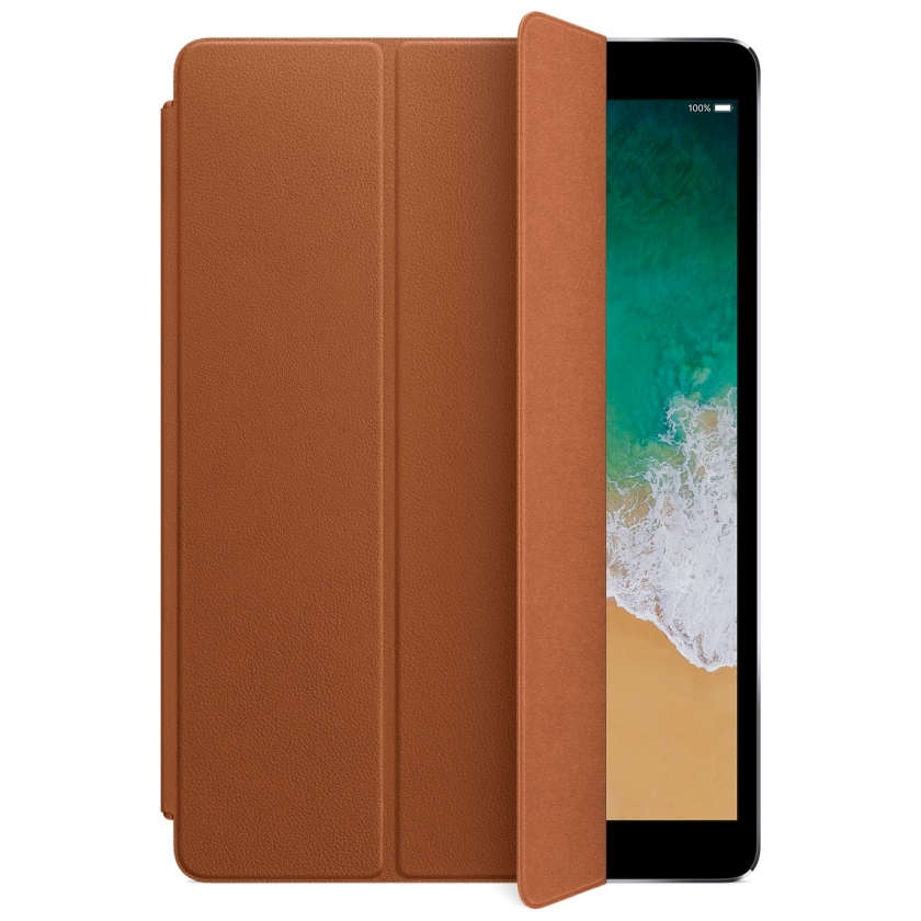 Leather Smart Cover for 10.5‑inch iPad Pro - Saddle Brown