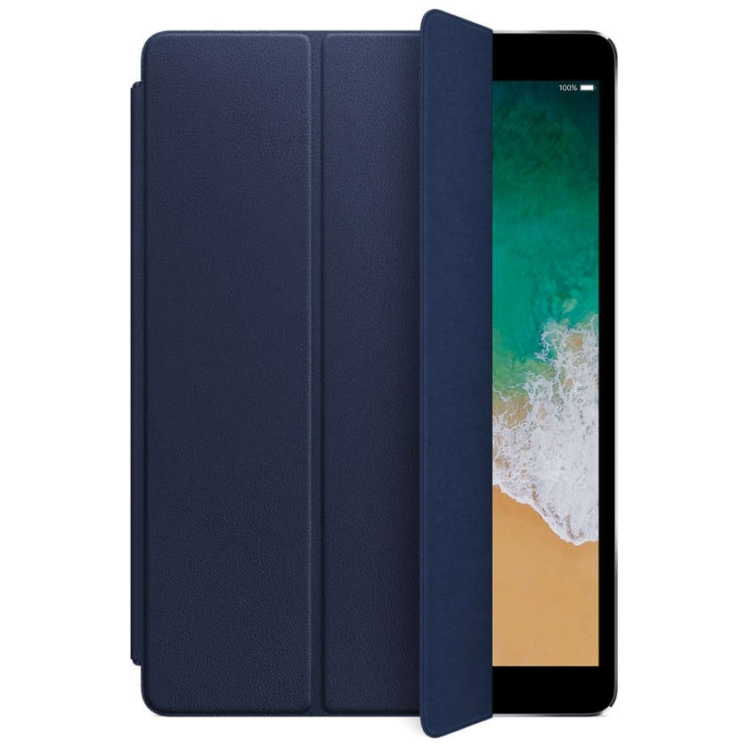 Leather Smart Cover for 10.5‑inch iPad Pro/Air - Midnight Blue