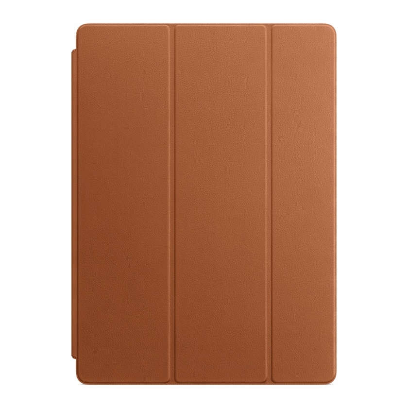 Leather Smart Cover for 12.9‑inch iPad Pro - Saddle Brown