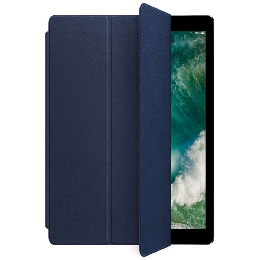 Leather Smart Cover for 12.9‑inch iPad Pro - Midnight Blue