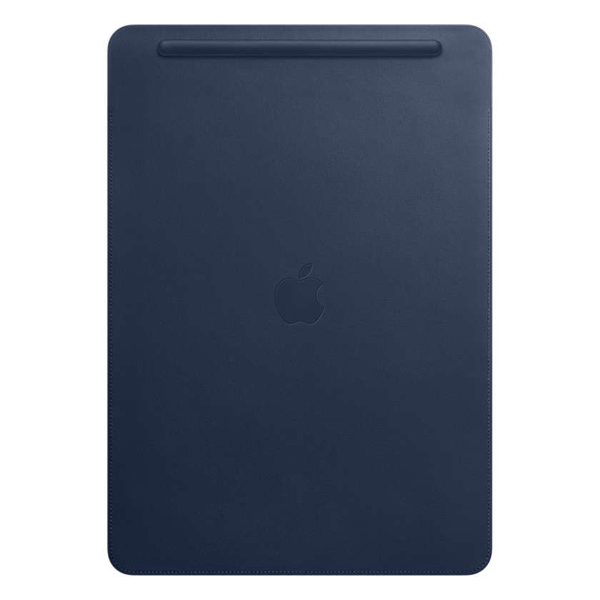 Leather Sleeve for 12.9‑inch iPad Pro - Midnight Blue
