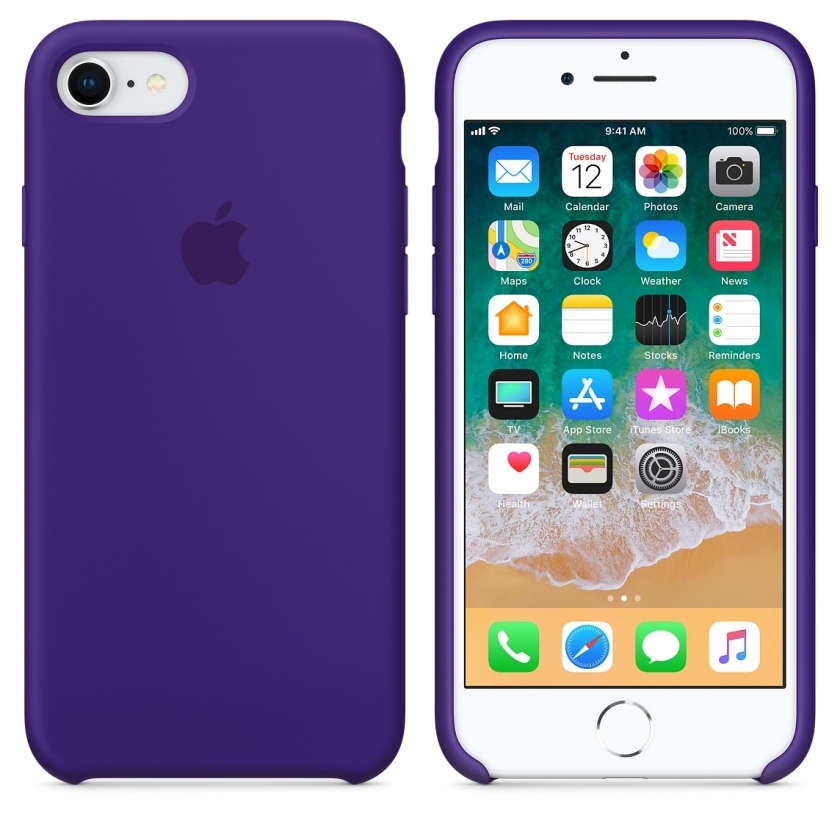 iPhone 8 / 7 Silicone Case - Ultra Violet