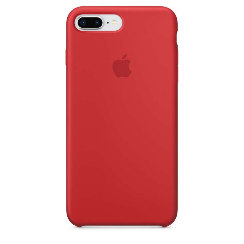 iPhone 8 Plus / 7 Plus Silicone Case - (PRODUCT)RED