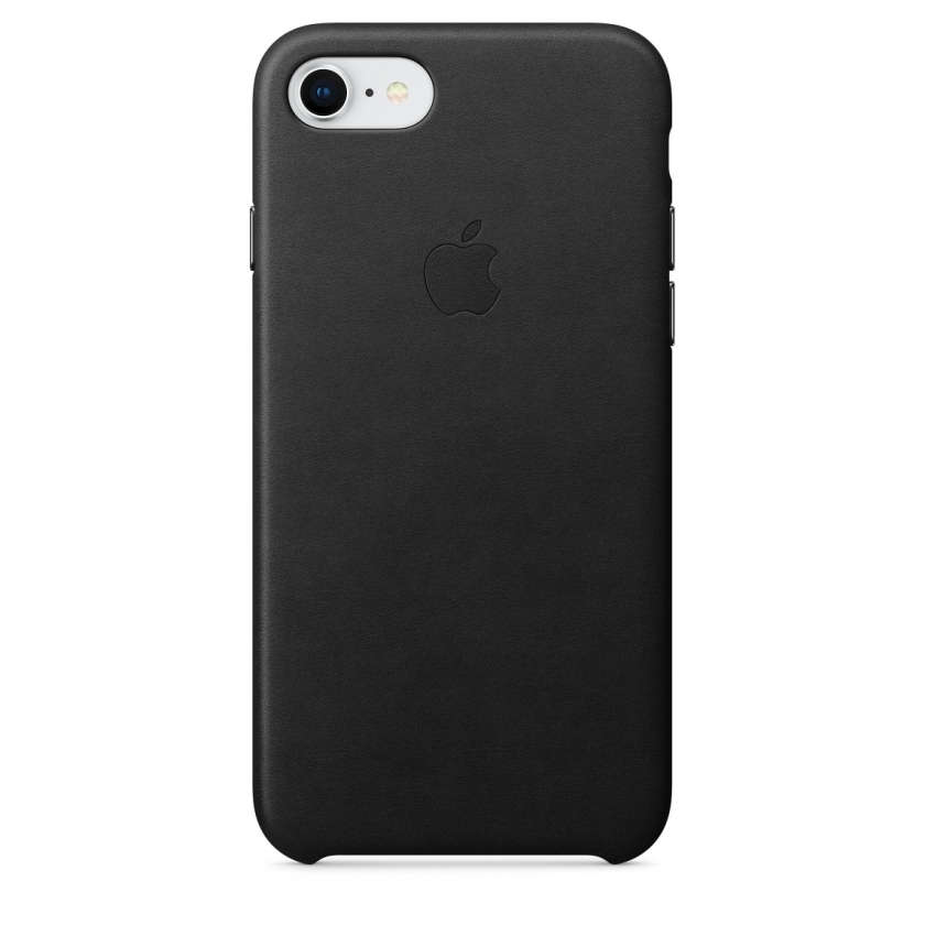 iPhone 8 / 7 Leather Case - Black