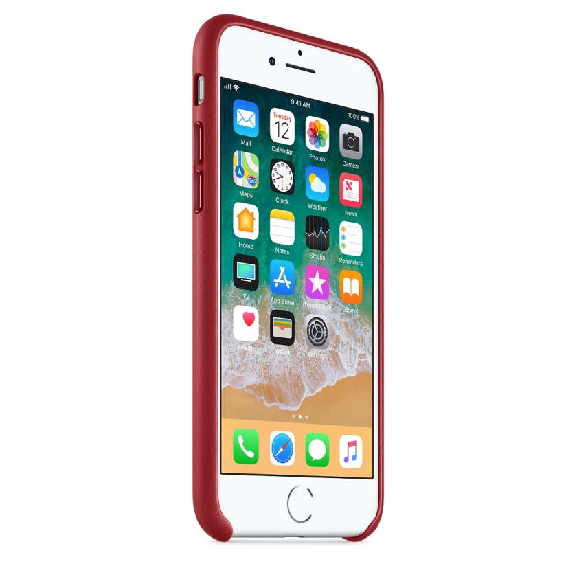 iPhone 8 / 7 Leather Case - (PRODUCT)RED