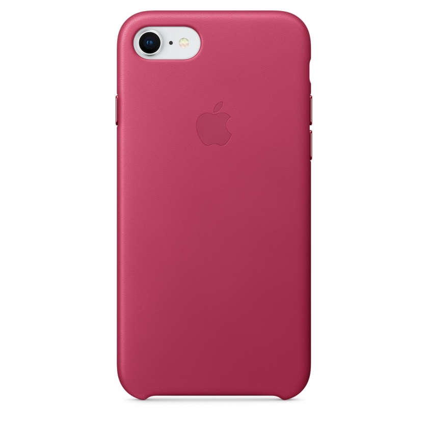 iPhone 8 / 7 Leather Case - Pink Fuchsia