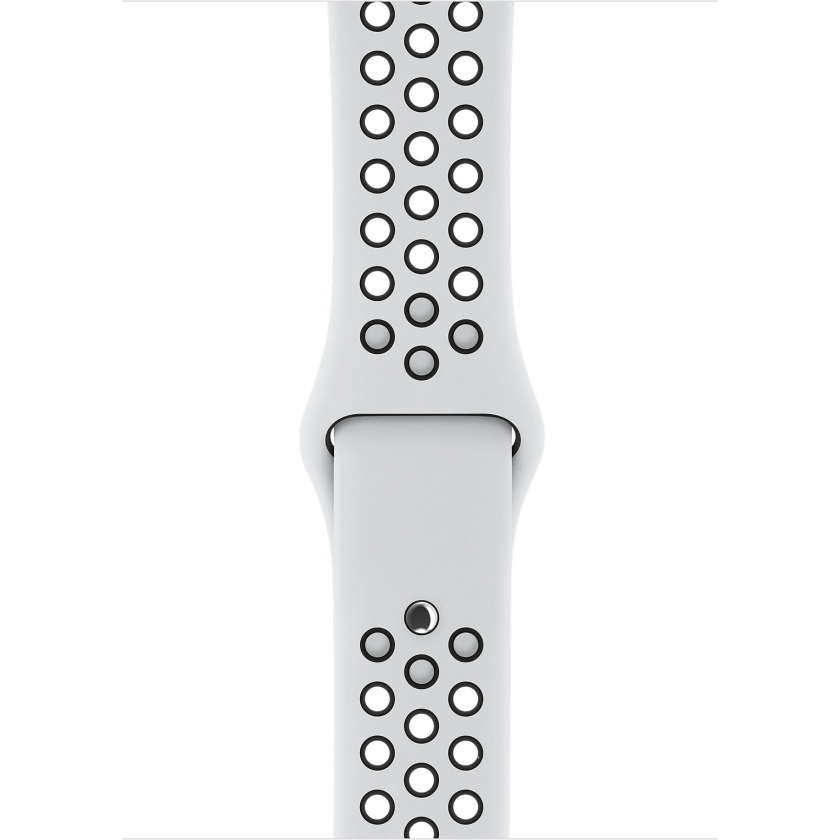 Apple Watch Nike+ Series 3 GPS + Cellular 38mm Silver Aluminum Case with Pure Platinum/Black Nike Sport Band
