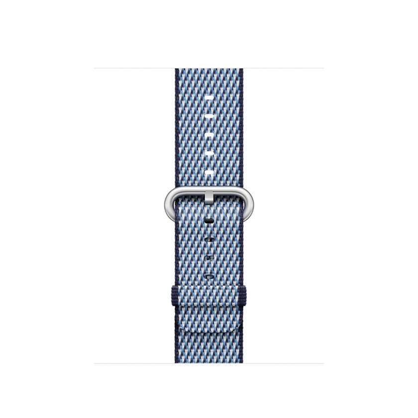Woven Nylon - Midnight Blue Check