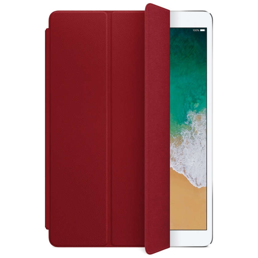 Leather Smart Cover for 10.5‑inch iPad Pro/Air - (PRODUCT)RED