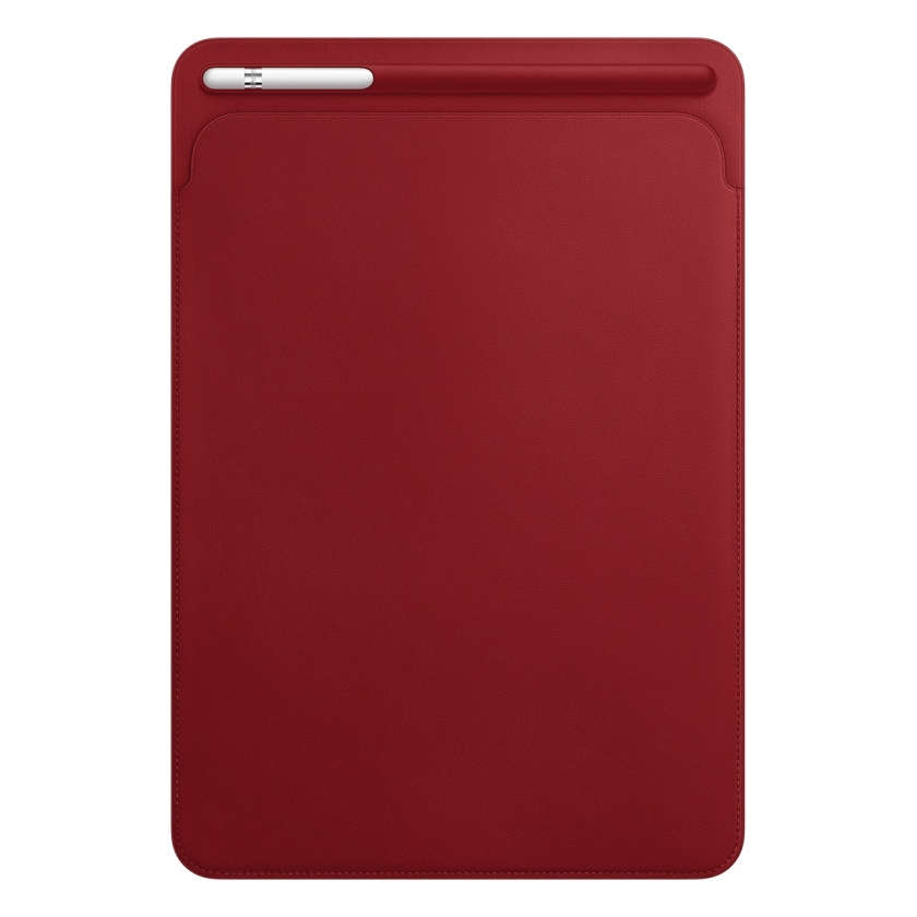 Leather Sleeve for 10.5‑inch iPad Pro - (PRODUCT)RED
