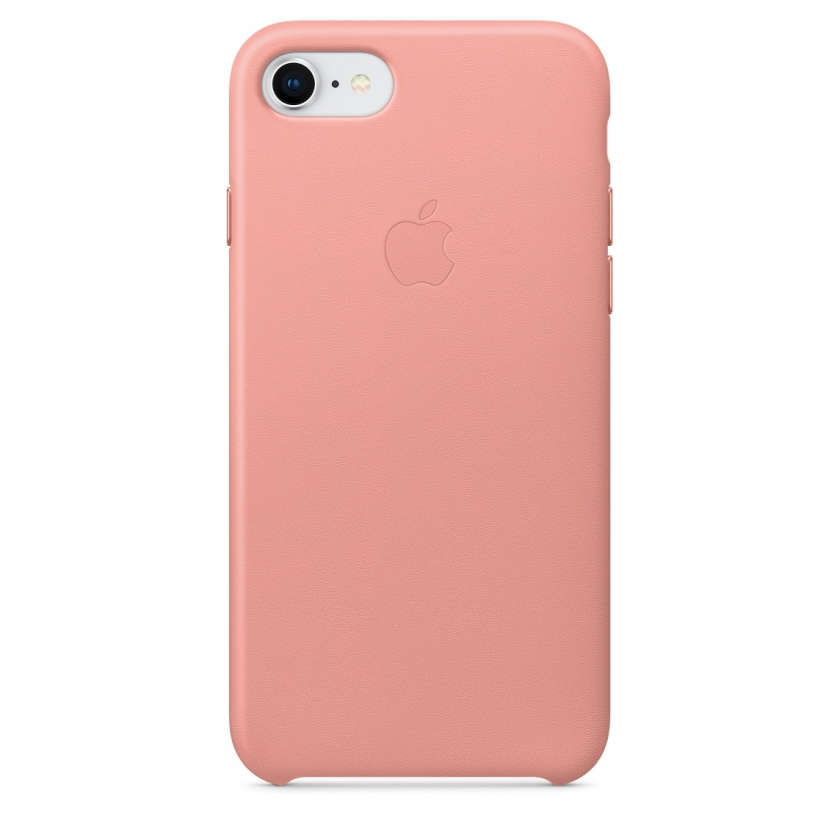 iPhone 8 / 7 Leather Case - Soft Pink