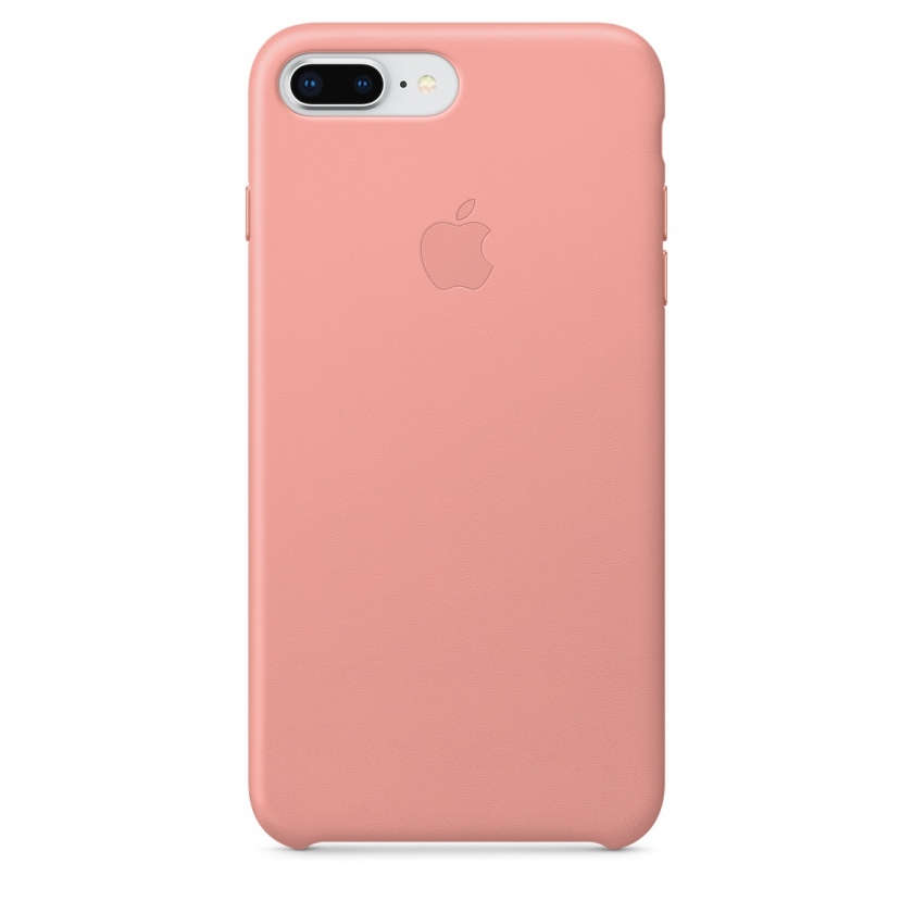 iPhone 8 Plus / 7 Plus Leather Case - Soft Pink