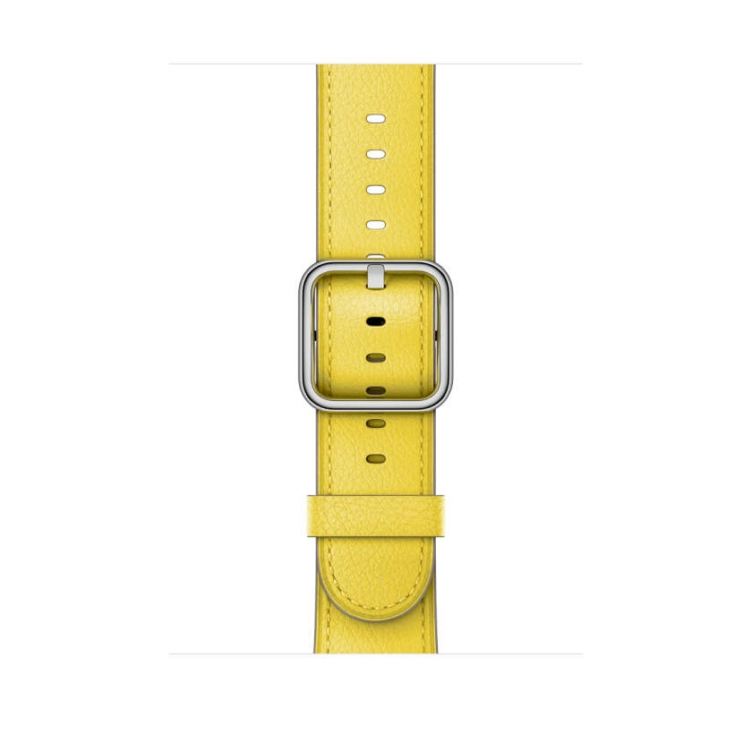 Classic Buckle - Spring Yellow