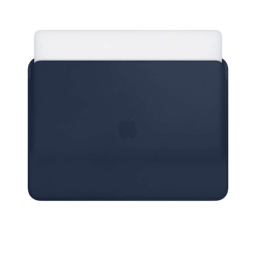 Leather Sleeve for 13‑inch MacBook and MacBook Pro - Midnight Blue