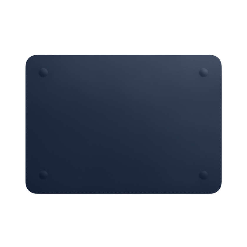Leather Sleeve for 15‑inch MacBook Pro - Midnight Blue
