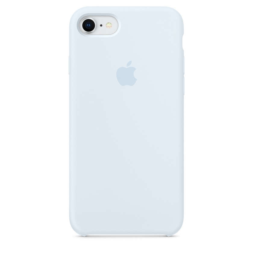 iPhone 8 / 7 Silicone Case - Sky Blue