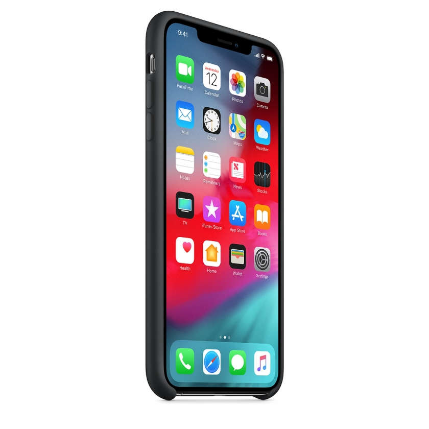 iPhone XS Max Silicone Case - Black
