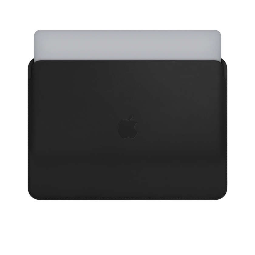 Leather Sleeve for 13‑inch MacBook and MacBook Pro - Black