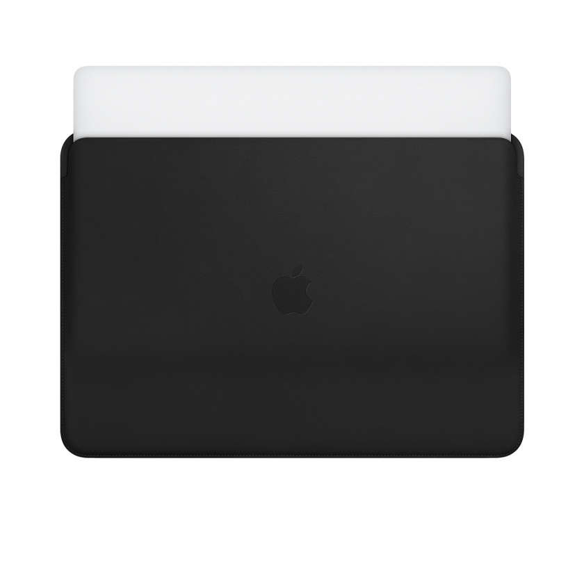 Leather Sleeve for 15‑inch MacBook Pro - Black