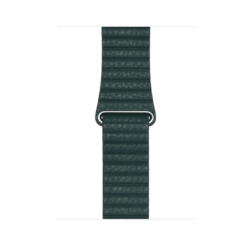 Leather Loop - Forest Green