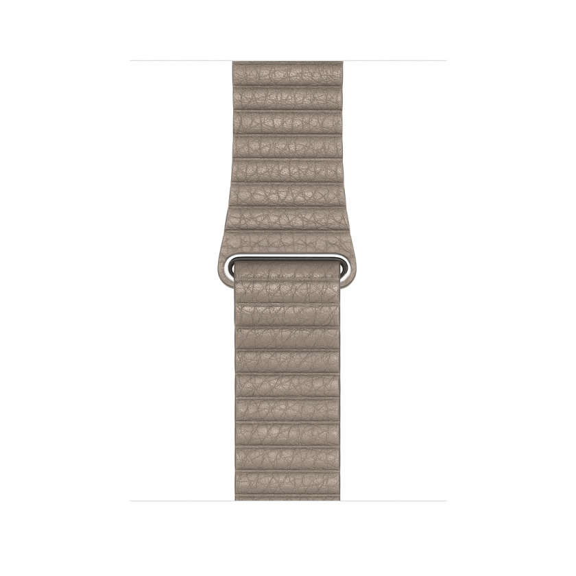 Leather Loop - Stone