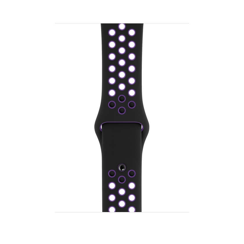 Nike Sport Band - Black/Hyper Grape