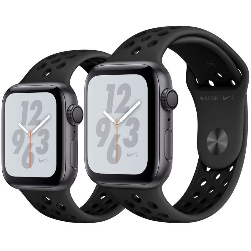 Apple Watch Nike+ Series 4 GPS 44mm Space Gray Aluminum Case with Anthracite/Black Nike Sport Band