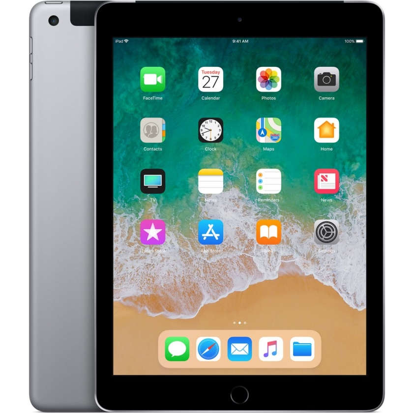 iPad 2018 Wi-Fi + Cellular 32GB Space Gray
