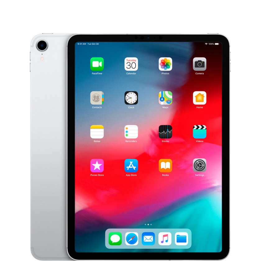 "iPad Pro 11"" 2018 Wi-Fi + Cellular 512GB Silver"