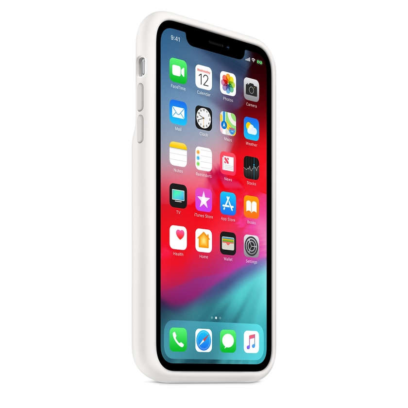 iPhone XR Smart Battery Case - White