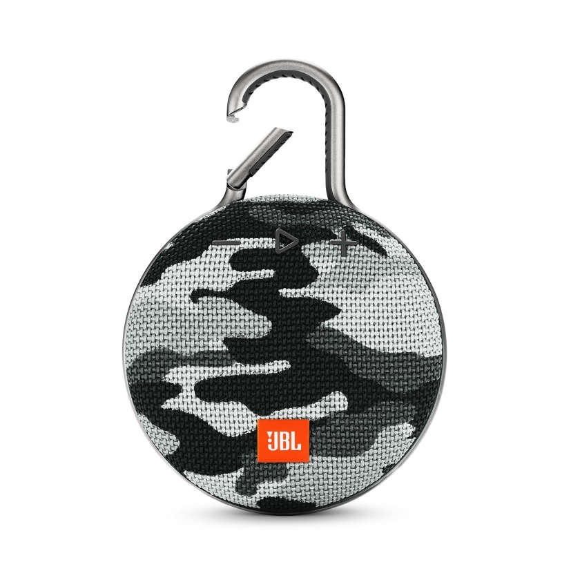 JBL CLIP 3 - White Camouflage