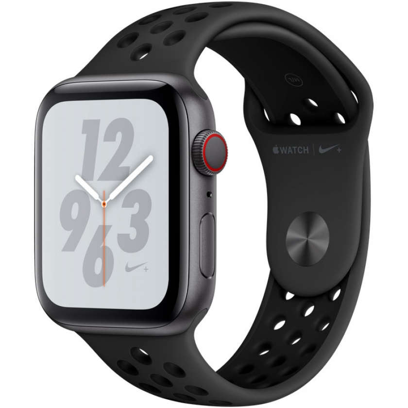 Apple Watch Nike+ Series 4 GPS + Cellular 44mm Space Gray Aluminum Case with Anthracite/Black Nike Sport Band