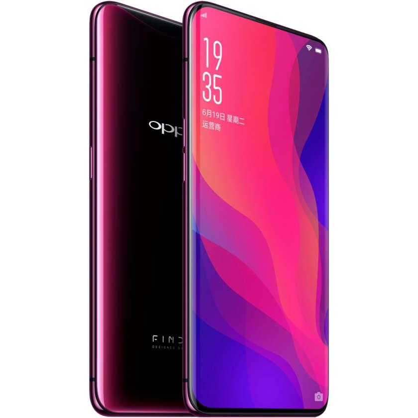 OPPO Find X 128GB - Bordeaux Red