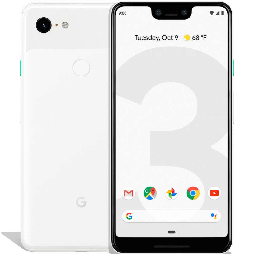 Google Pixel 3 XL 64GB - Clearly White
