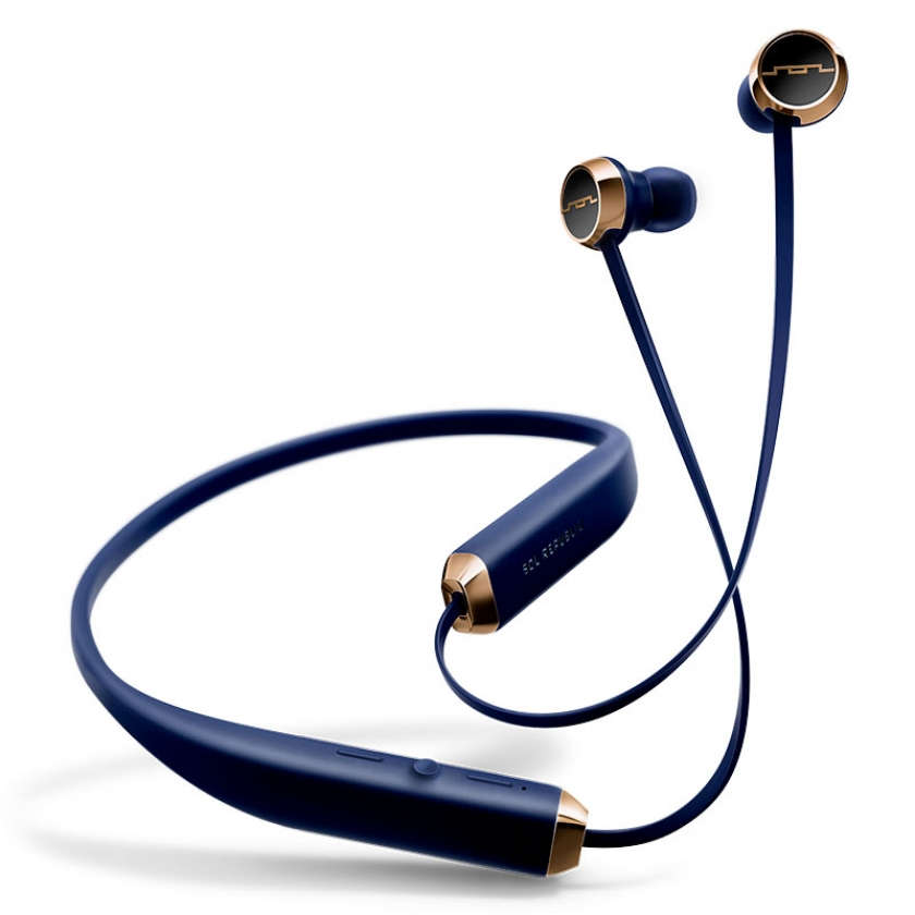 SOL REPUBLIC Shadow Wireless - Navy Blue