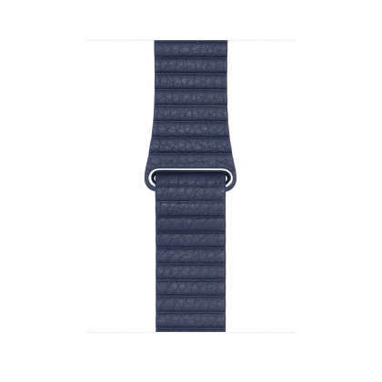 Leather Loop - Midnight Blue