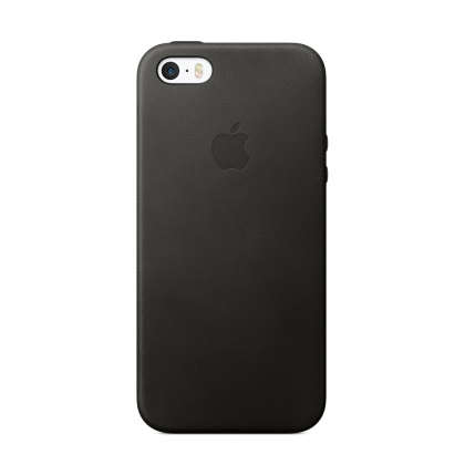 iPhone SE Leather Case - Black