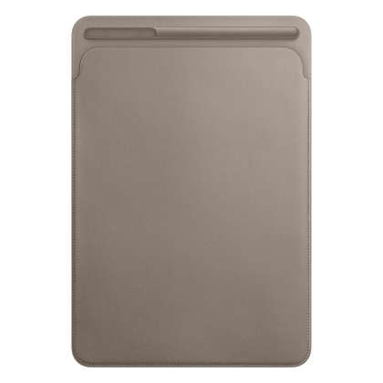 Leather Sleeve for 10.5‑inch iPad Pro/Air - Taupe