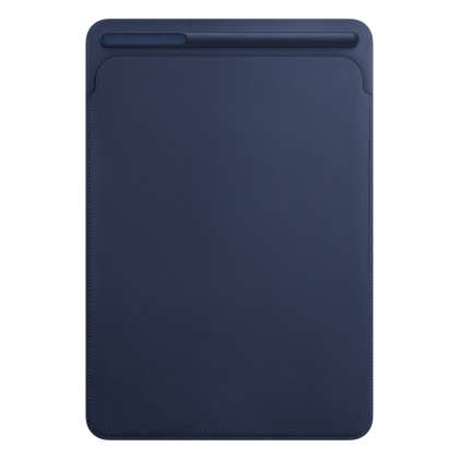 Leather Sleeve for 10.5‑inch iPad Pro/Air - Midnight Blue