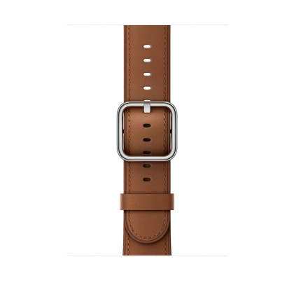 Classic Buckle - Saddle Brown