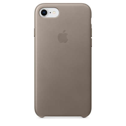 iPhone 8 / 7 Leather Case - Taupe
