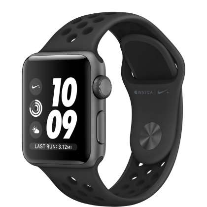 Apple Watch Nike+ Series 3 GPS 38mm Space Gray Aluminum Case with Anthracite/Black Nike Sport Band