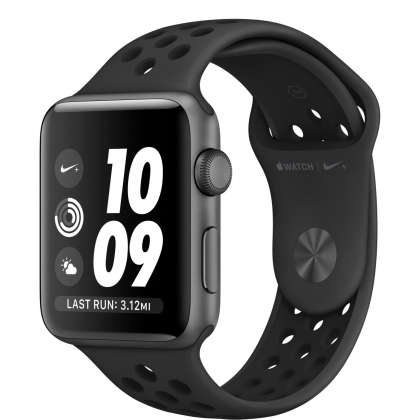 Apple Watch Nike+ Series 3 GPS 42mm Space Gray Aluminum Case with Anthracite/Black Nike Sport Band
