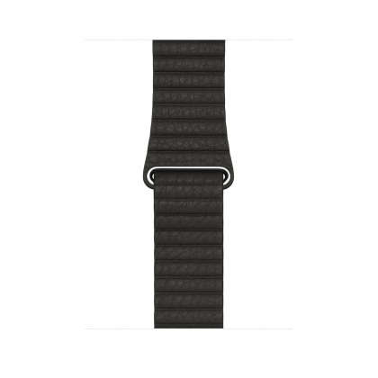 Leather Loop - Charcoal Gray